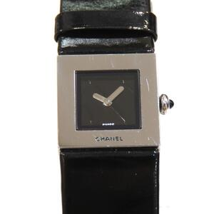 CHANEL Matrasse Watches Ladies Quartz Stainless Steel Leather