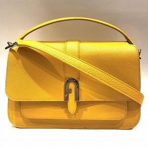Furla Sophia Grainy Bag Handbag Shoulder Ladies