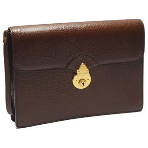 BURBERRY LONDON bag clutch men's leather