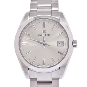 SEIKO Grand Seiko Heritage Collection 9F82-0AF0 SBGV221 Men's Stainless Steel Watch Quartz Silver Dial