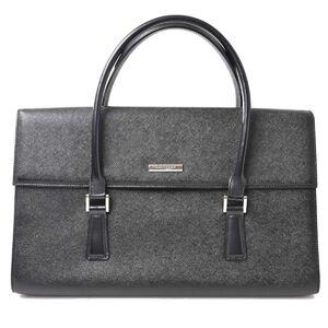 Burberry Shoulder Bag Black PVC