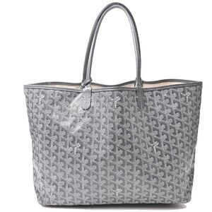 Goyard Saint Louis PM Gray Tote Bag PVC