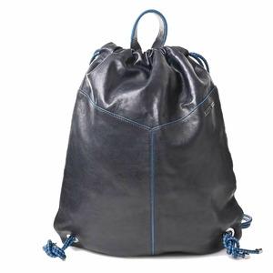 Jimmy Choo leather backpack black