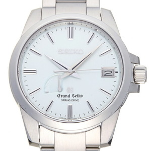 Seiko Grand Spring Drive Men's Watch SBGA015 (9R65-0AG0) Stainless Steel Light Blue Dial