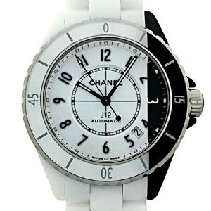 Chanel J12 Paradox Men's Watch H6515 Ceramic White Black Arabian Dial