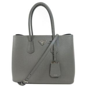 Prada 2WAY Saffiano Tote Bag Leather Ladies