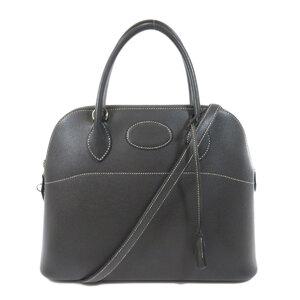 Hermes Bored 31 Epson Graphite Silver Hardware Handbag Ladies