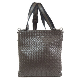 Bottega Veneta Intrecciato Shoulder Bag Leather Ladies