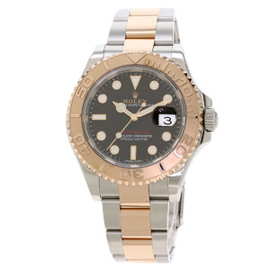 Rolex 116621 Yacht Master Watch Stainless Steel K18PG Everose Gold Mens