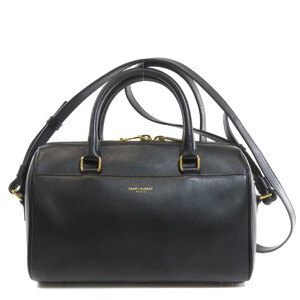 Saint Laurent 330958 Baby Duffle Handbag Calf Ladies