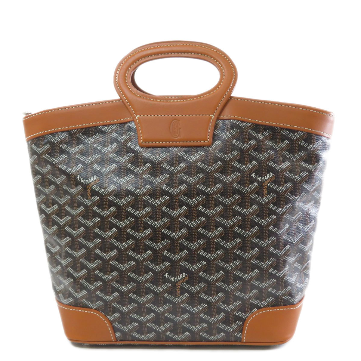 Goyard Beluga PM Handbag PVC Leather Ladies