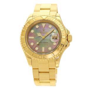 Rolex 16628B Yacht Master Watch K18 Yellow Gold Mens
