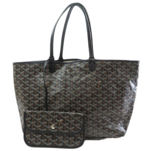 Goyard Saint Louis PM Tote Bag PVC Leather Ladies
