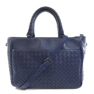 Bottega Veneta Intrecciato 2WAY Handbag Leather Ladies