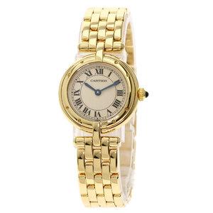 Cartier Panther SM Watch K18 Yellow Gold Ladies