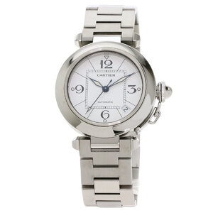 Cartier W31074M7 Pasha C Watch Stainless Steel Boys