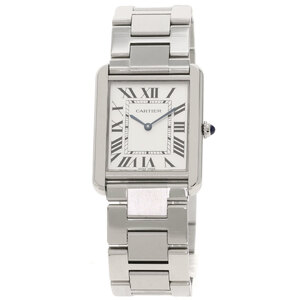 Cartier W5200014 Tank Solo LM Watch Stainless Steel Mens