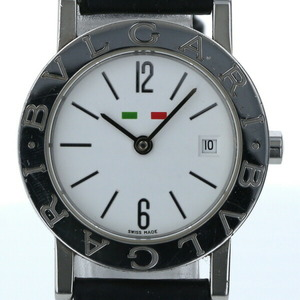 Bvlgari BVLGARI Special Edition Date BB26SL Quartz White Dial Ladies Watch
