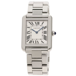 Cartier W5200013 Tank Solo SM Watch Stainless Steel Ladies