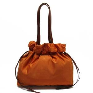 Prada Shoulder Bag Nylon Leather