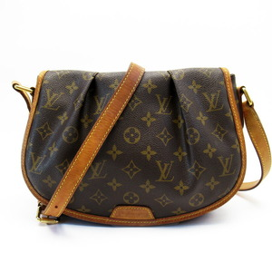 Louis Vuitton Monogram Menilmontant PM Brown M40474