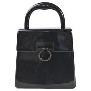 Salvatore Ferragamo Handbag Gancini Plastic Ladies