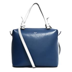 CELINE Celine Shoulder Bag Handbag Blue Gray Ladies