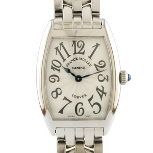 FRANCK MULLER watch Tono Carbex 1752QZ Silver Ladies Men's Stainless Steel