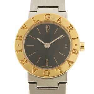BVLGARI Bvlgari Watches BB23SGD Silver Gold Black Ladies Stainless Steel