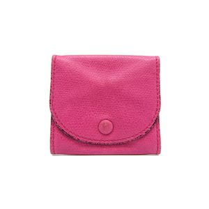 Valextra Coin Case Leather Pink