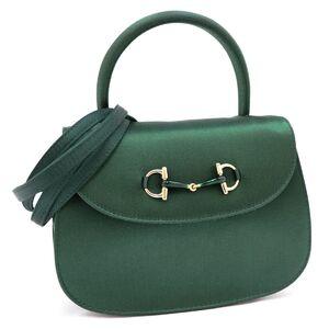 Gucci Vintage Satin Horsebit 2way Mini Shoulder Bag Handbag Ladies Deadstock Old