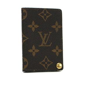 Louis Vuitton Monogram Card Case Holder Porto Cult Clady Pression M60937