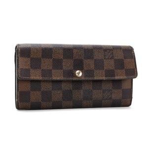 Louis Vuitton Damier Ebene Portofeuil Sarah Bi-Fold Wallet N61734