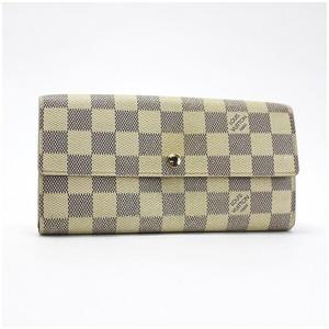 Louis Vuitton Damier Azul Portofeuil Sarah Bi-Fold Wallet N61735