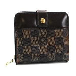 Louis Vuitton Damier Compact Zip Bi-Fold Wallet N61668