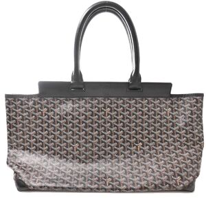 Goyard Belchas MM Tote Bag Black PVC Leather