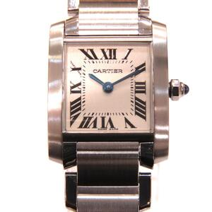 Cartier Tank Francaise SM Ladies Watch Quartz Stainless Steel W51028Q3