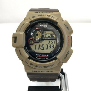 G-SHOCK CASIO Casio watch GW-9300ER MUDMAN Madman brown black solar men's