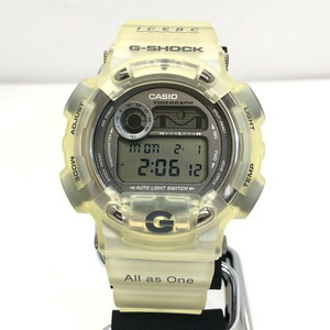 G-SHOCK CASIO Casio watch DW-8600KJ dolphin whale ICERC FISHERMAN Fisherman Quartz White Skeleton Men's