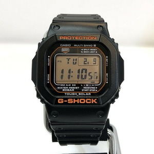 G-SHOCK CASIO Casio watch GW-M5610R-1JF speed solar black orange men's