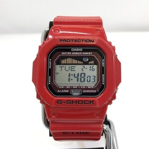 G-SHOCK CASIO Casio watch GLX-5600-4 G-LIDE G ride quartz red men's