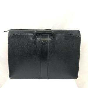 BURBERRY Burberry Bag Black Leather Horsemark Men's