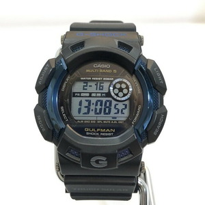 G-SHOCK CASIO Casio watch GW-9125C Gulfman GULFMAN Master Blue 25th Anniversary Black Solar Men's