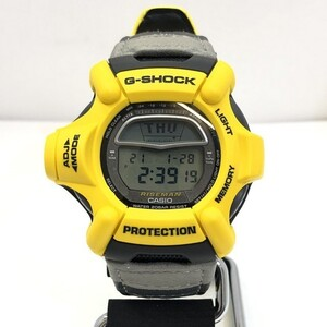 G-SHOCK CASIO Casio watch DW-9100YJ-9T RISEMAN Riseman MEN IN YELLOW gray quartz men's