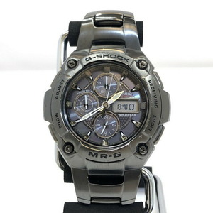 G-SHOCK CASIO Casio watch MRG-7100BJ MR-G solar titanium black men's metal band
