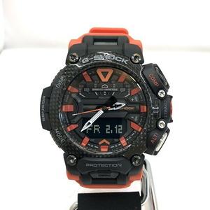 G-SHOCK CASIO Casio Watch GR-B200-1A9JF Gravity Master Sky Cockpit Pilot Quartz Black Orange Men's