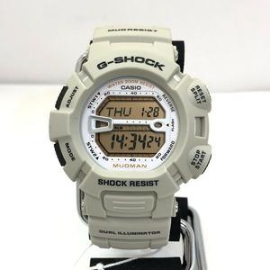 G-SHOCK CASIO Casio watch G-9000-8VDR Madman MUDMAN Quartz Gray World Time Men's