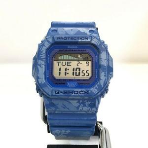 G-SHOCK CASIO Casio Watch GLX-5600F-2 Pattern Series G-LIDE G Ride Sports Line Blue World Time Men's