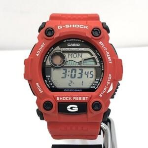 G-SHOCK CASIO Casio Watch G-7900A-4 Red Black Quartz Big Case Men's Backlight
