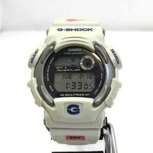 G-SHOCK CASIO Casio watch DW-9700NC Gulfman GULFMAN Solar Helly Hansen Double Name America's Cup Beige Men's